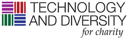 Technology And Diversity For Charity Logo